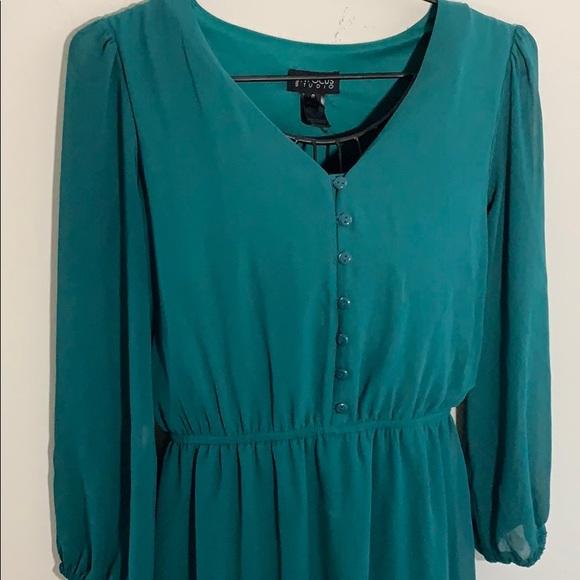 Enfocus Studio Dresses & Skirts - Emerald green maxi dress